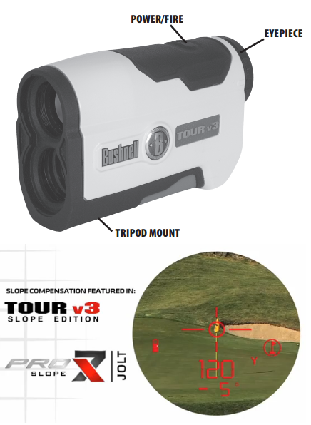 Review of bushnell tour v3 slope edition golf rangefinder