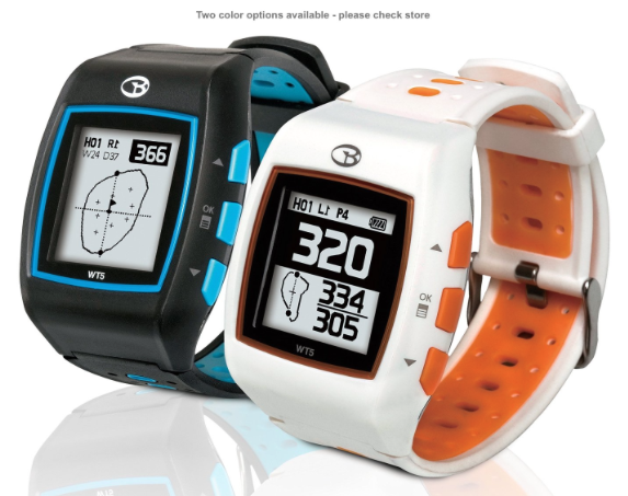 GolfBuddy WT5 Golf GPS Watch - two color options