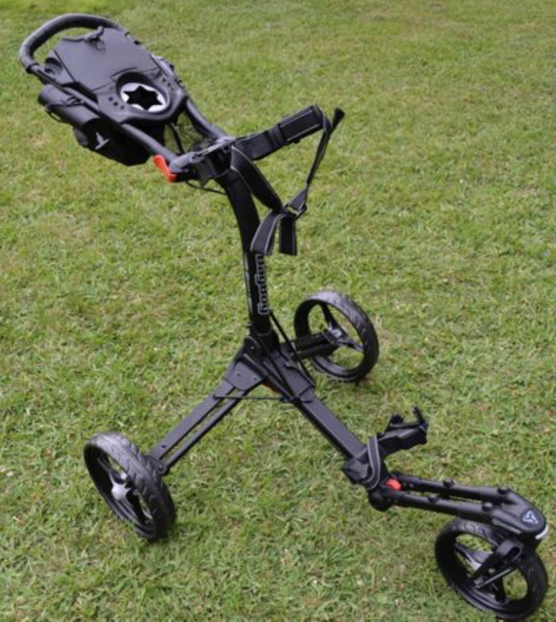 Bag Boy Tri Swivel Ii Golf Push Cart Review