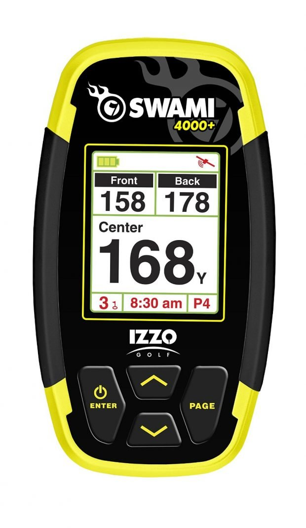 Izzo Swami 4000+ golf GPS handheld device