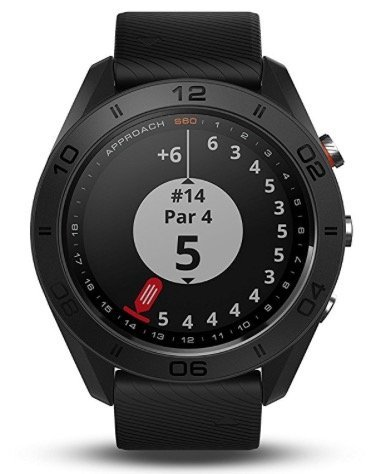 Garmin Approach S60 GPS golf watch - score card