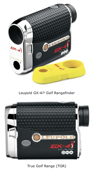Leupold GX-4i2 Digital Laser Golf Rangefinder - Tour permitted - TGR