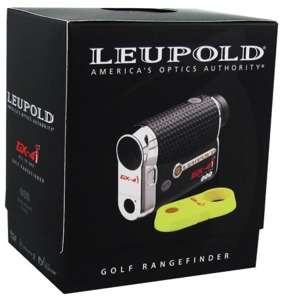 Leupold GX-4i2 Digital Laser Golf Rangefinder - packaging