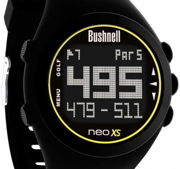 Bushnell Neo Xs Golf GPS Watch - close up