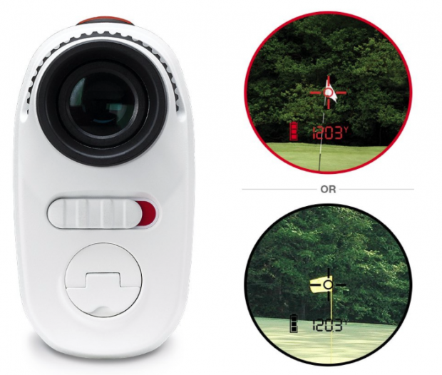 Bushnell Tour X Laser Golf Rangefinder - dual display technology