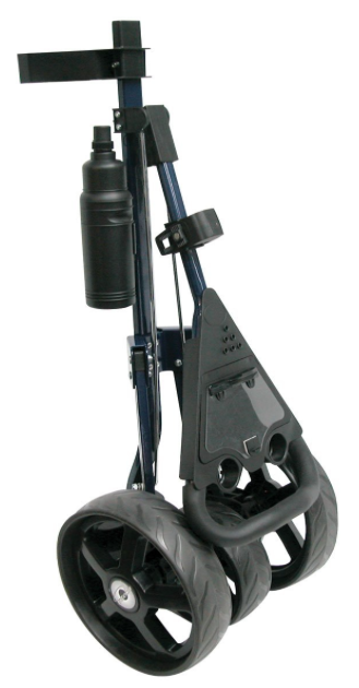 Intech Tri Trac 3-Wheel Golf Cart - folded