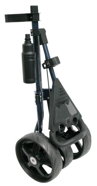 Intech Tri Trac 3-Wheel Golf Cart - folded