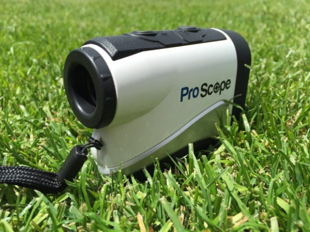 Lofthouse ProScope 400x golf rangefinder with case - right side