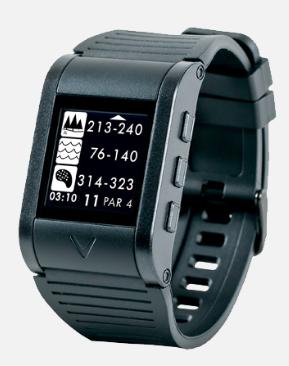 Callaway GPSync Golf GPS Watch - hazards display