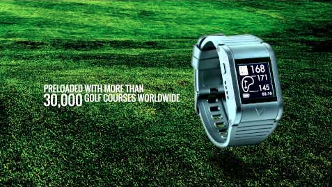 Callaway GPSync golf watch - 30,000 courses loaded