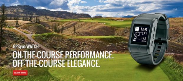 Callaway GPSync golf watch - performance and elegance