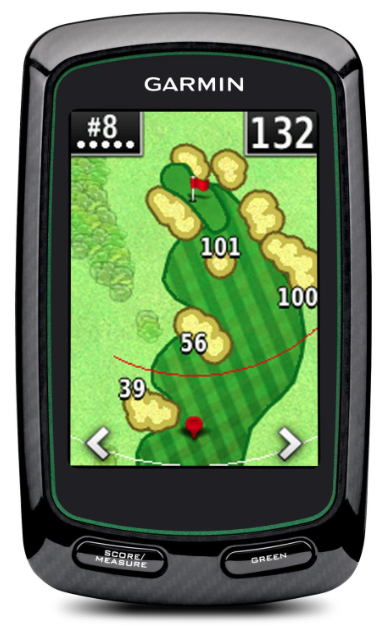 Garmin Approach G6 Handheld Touchscreen Golf Course GPS - fairway overview