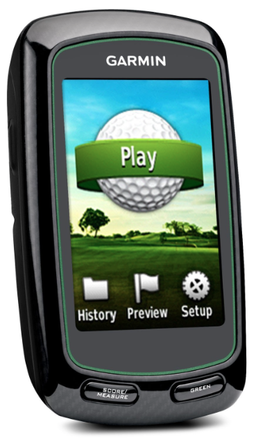 Garmin Approach G6 Handheld Touchscreen Golf Course GPS - start to play