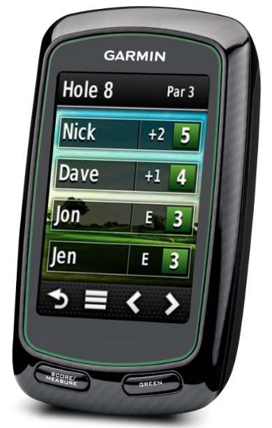 Garmin Approach G6 Handheld Touchscreen Golf Course GPS - track scores