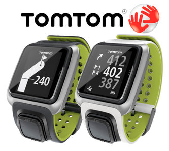 TomTom Golfer - distances display