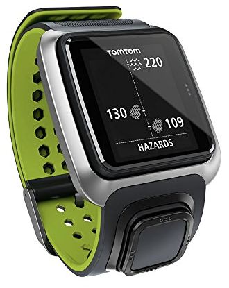 TomTom Golfer - hazards display