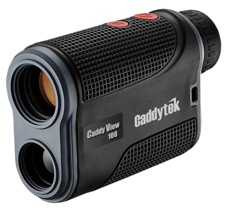 CaddyTek CaddyView 100 Golf Laser Rangefinder with FlagSeeking