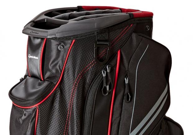TaylorMade Catalina Golf Cart Bag - top side detail
