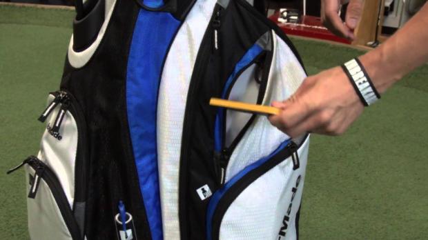 TaylorMade Catalina Golf Cart Bag - side pockets