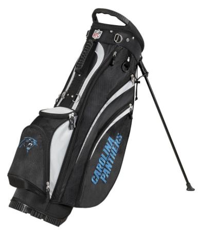 Carolina Panthers Wilson NFL Golf Carry Bag