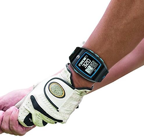 GolfBuddy WT5 Golf GPS Watch - playing golf