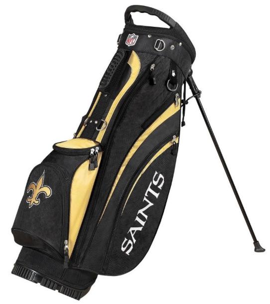 New Orleans Saints Wilson NFL Golf Carry Bag