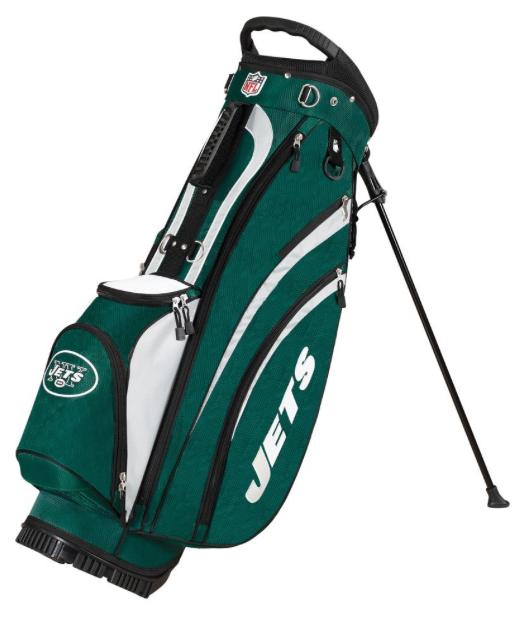 New York Jets Wilson NFL Golf Carry Bag