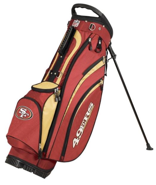 San Francisco 49ers Wilson NFL Golf Carry Bag
