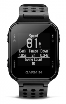 Garmin Approach S20 Golf GPS Watch - front view
