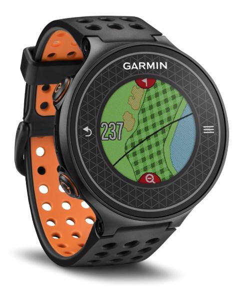 Garmin Approach S6 Golf GPS Watch - Black-orange