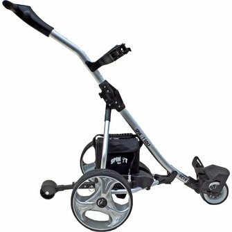Spin It Golf Products GC1R Easy Trek Remote Controlled Electric Golf Cart - side view