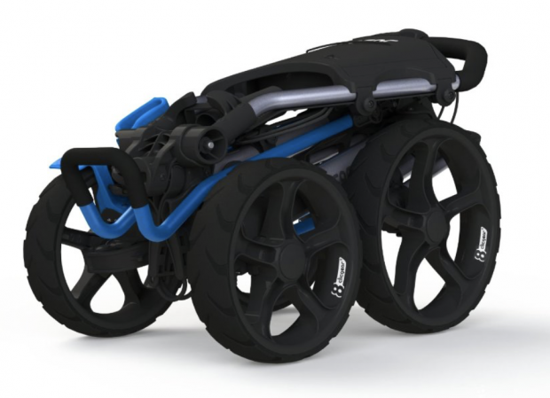 Clicgear Model 8.0 Golf Push Cart - folded