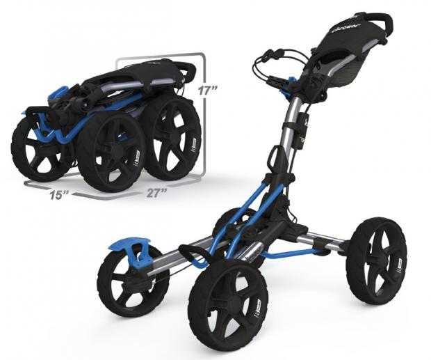 Clicgear Model 8.0 Golf Push Cart - overview