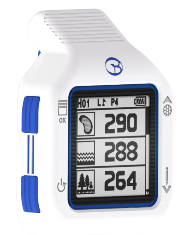 GolfBuddy CT2 Golf GPS Watch - distances to hazards