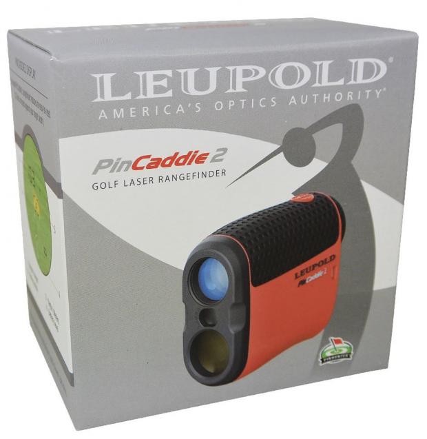 Leupold PinCaddie 2 Golf laser rangefinder - in package box