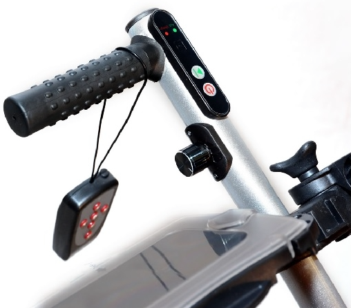 Bat Caddy X4R Lithium Remote Control Electric Golf Cart - close up