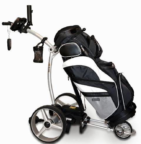 Bat Caddy X4R Lithium Remote Control Electric Golf Trolley