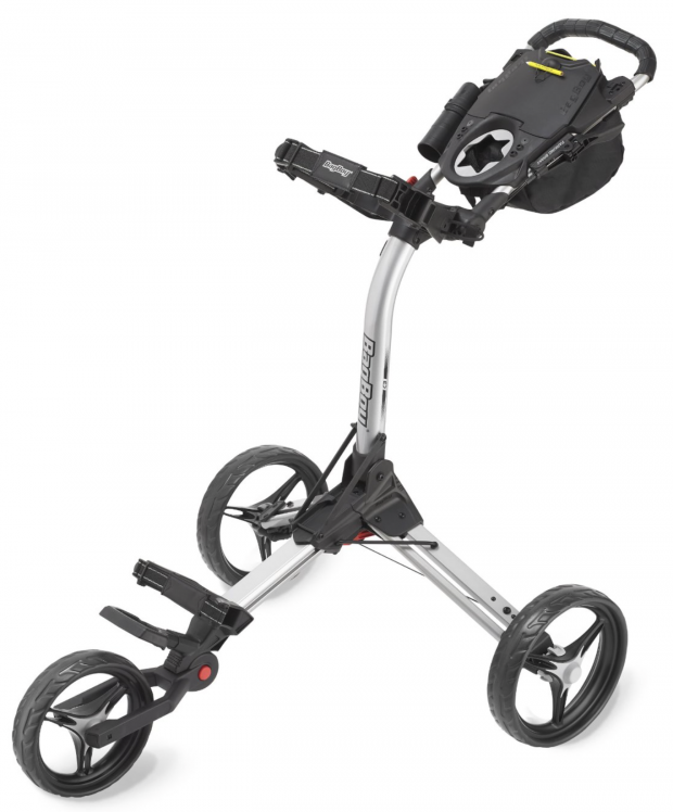 Bag Boy C3 Golf Push Cart Silver