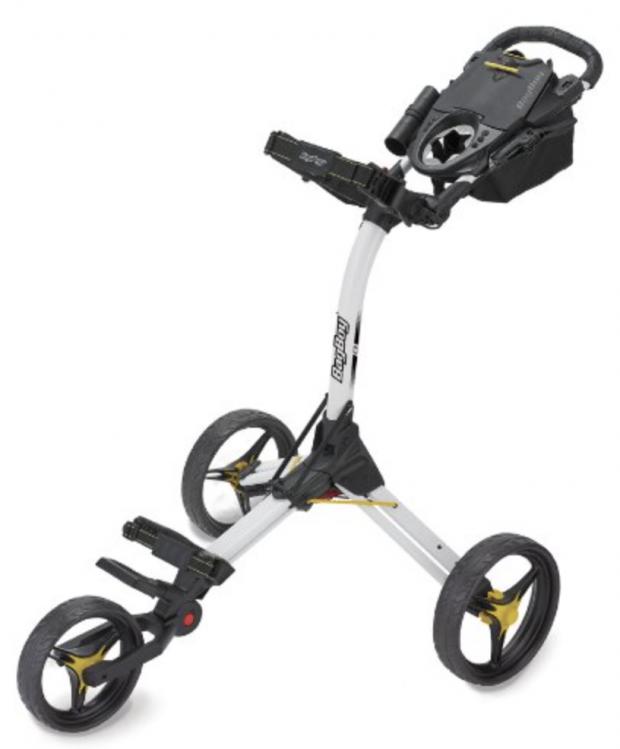 Bag Boy C3 Golf Push Cart White