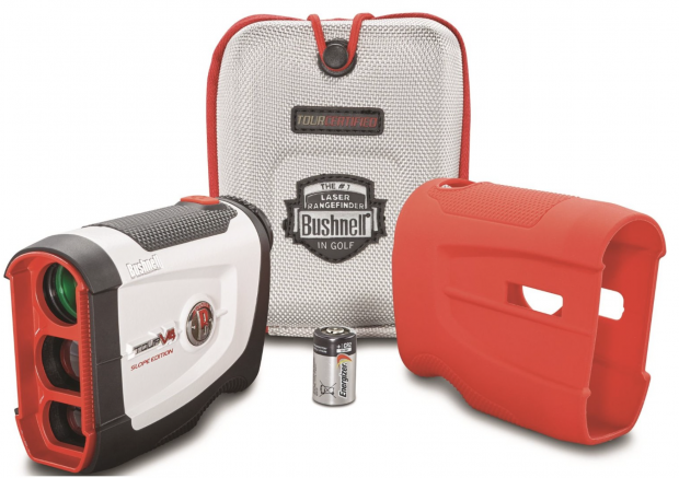 Bushnell Tour V4 Slope Edition Patriot Pack Golf Rangefinder