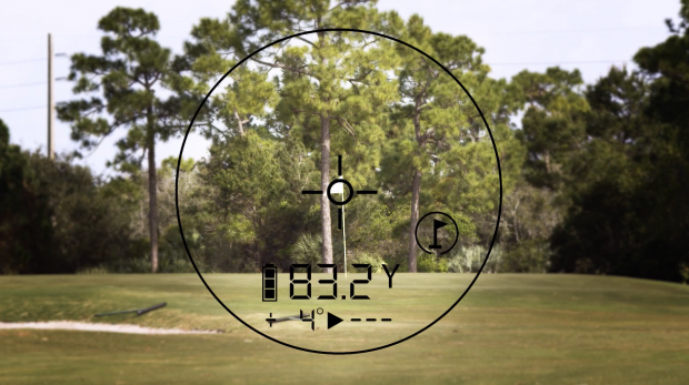 Bushnell Tour V4 - distance to pin with pinseeker technology