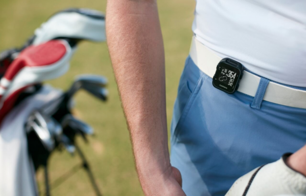 Garmin Approach G10 Golf GPS device - clip-on belt