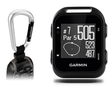 Garmin Approach G10 Golf GPS device with Garmin Lanyard Carabiner