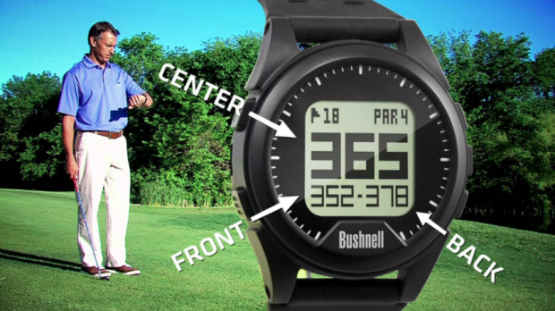 Bushnell Neo iON Golf GPS Watch - Distances to flag