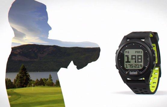 Bushnell Neo iON Golf GPS Watch - Distances to hazards