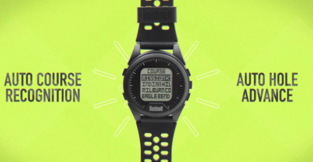 Bushnell Neo iON Golf GPS Watch - course recognition and auto hole advance