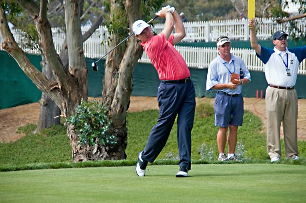 Ernie Els at Torrey Pines for the 2008 U.S. Open