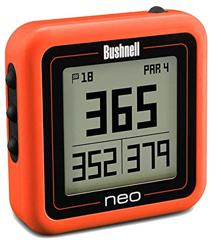 Bushnell Neo Ghost Golf GPS - Orange - distances to green
