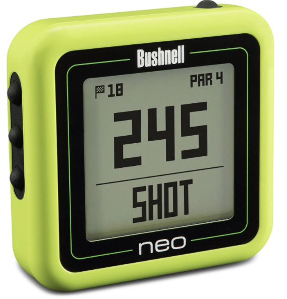 Bushnell Neo Ghost Golf GPS - neon green