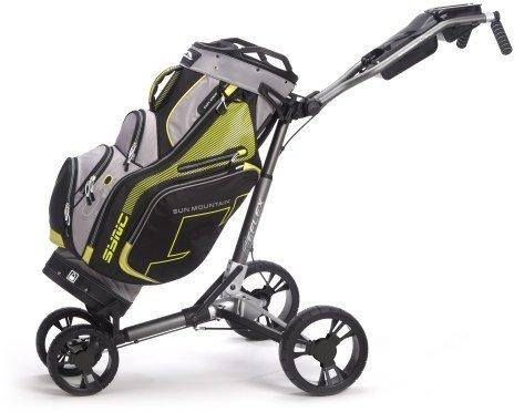 Sun Mountain Golf Reflex Push:Pull Cart - with golf bag